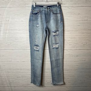Dance & marvel high waisted distressed NWOT jeans